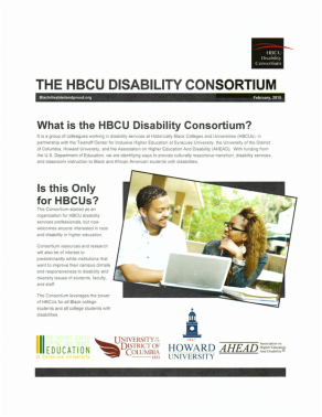 The HBCU Disability Consortium